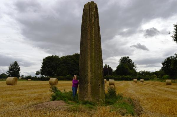 Campervan: Standing Stones at Ripon near York
