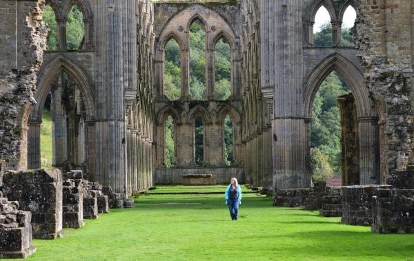 Campervan Trips:  Rievaulx Abbey, Yorkshire