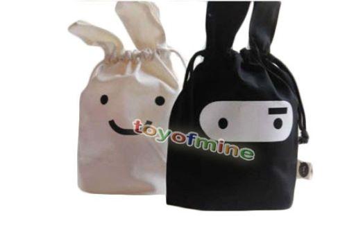 Campervan Kit: Cute Rabbit Bags Help You with CampervanStorage