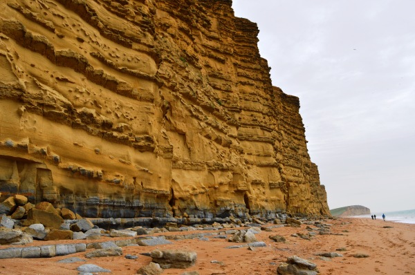 The Famous Cliffs at West Bay, Dorset