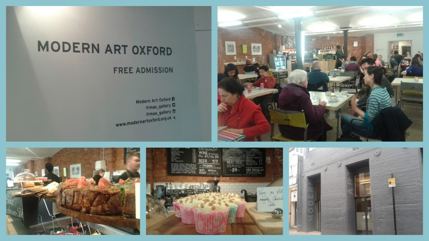 Great Cafe for Campervanners at Oxford Modern Art Gallery