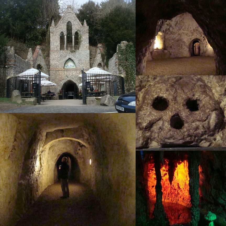 Campervan Days Out: The Spooky Hellfire ClubCaves