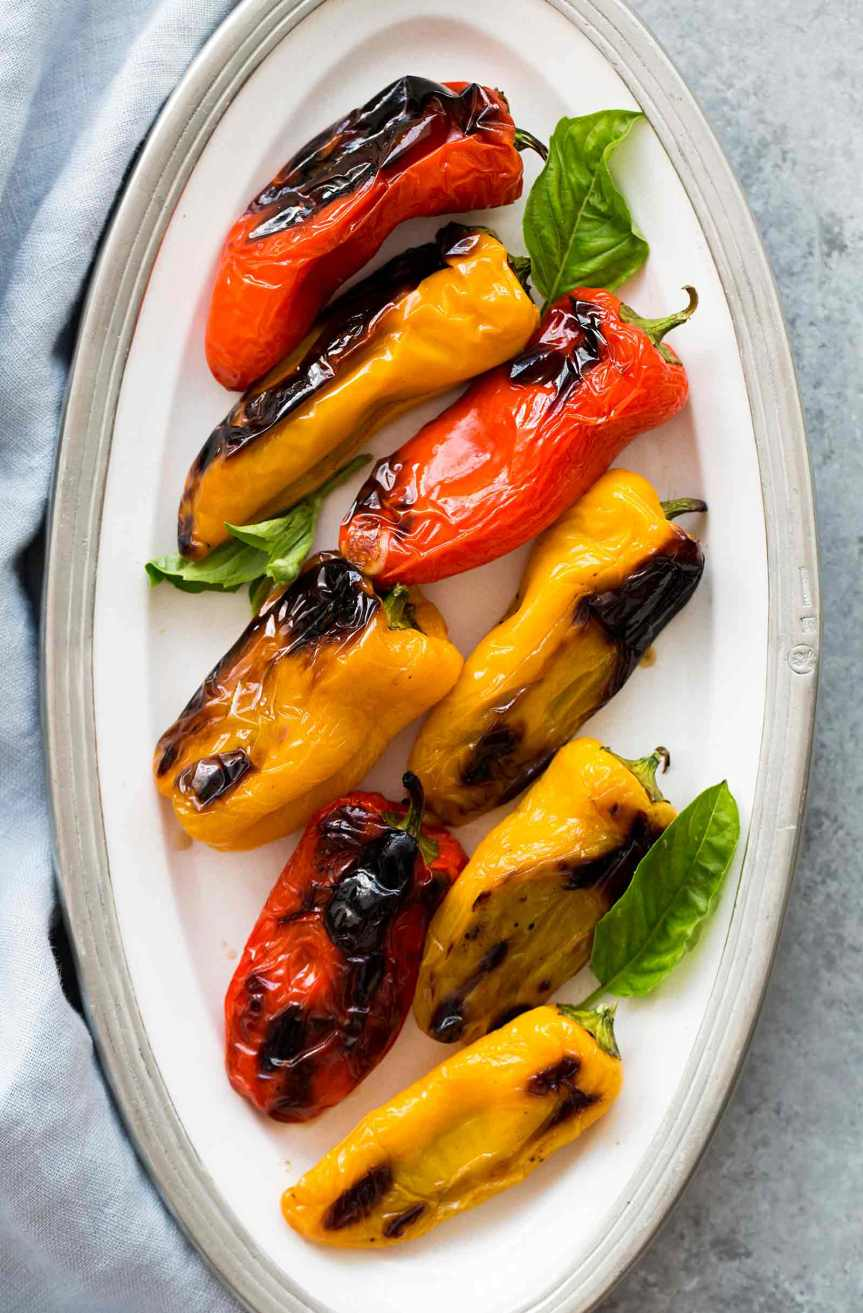 Campervan Recipes: Stuffed Peppers for the BBQ