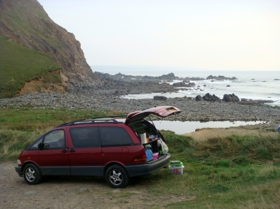 Beach Picnic, Cornwall