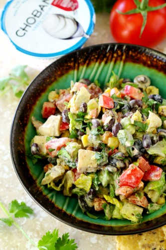 Campervan Recipes: Mexican Chopped ChickenSalad