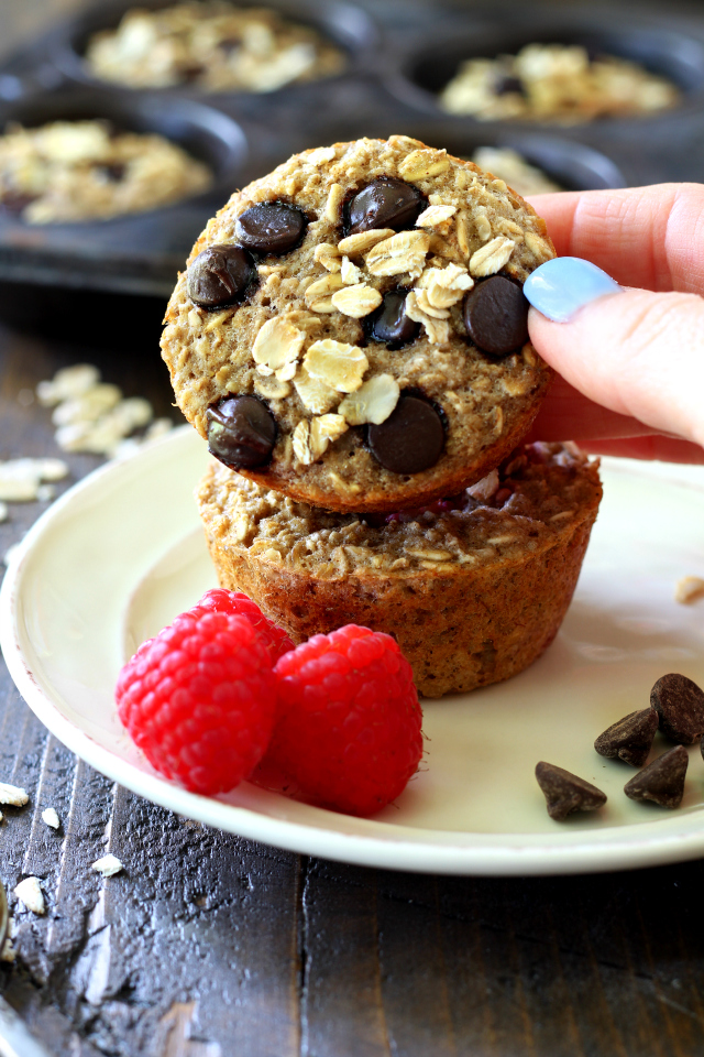 Campervan Recipes: Healthy Oatmeal Muffins