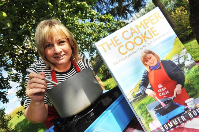 Campervan Life: Yay – The Camper Cookie Book makes the Local Press!