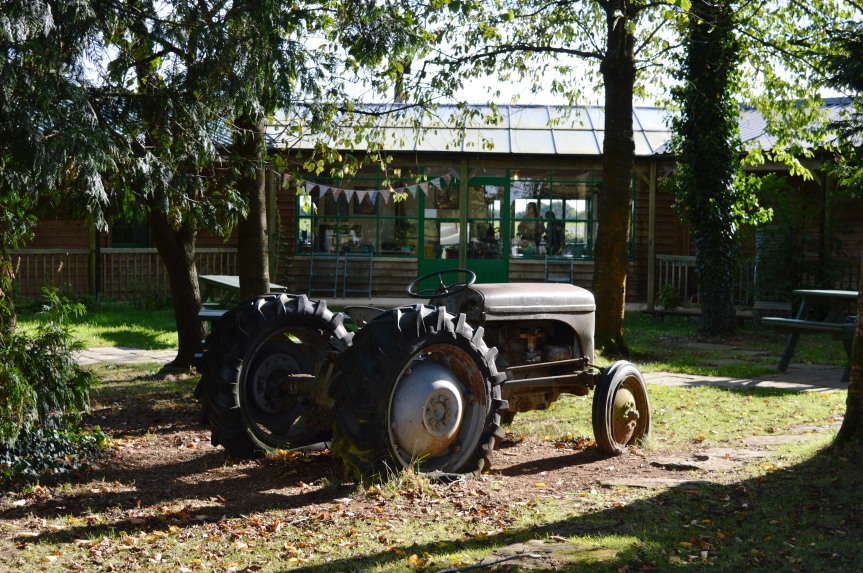 Campervan Places to Eat: The Organic Farm Shop,Cirencester