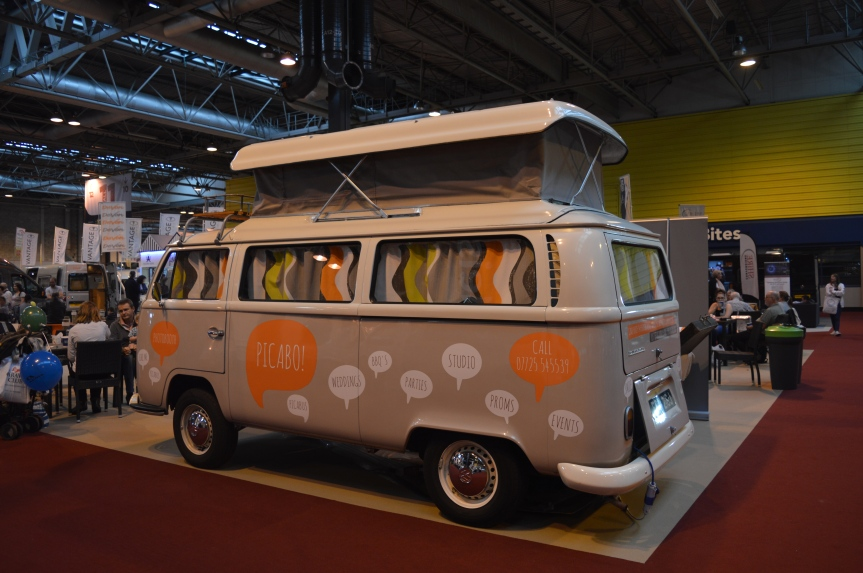 Campervan Show: Campervans, Cooking and Cures at the NEC.