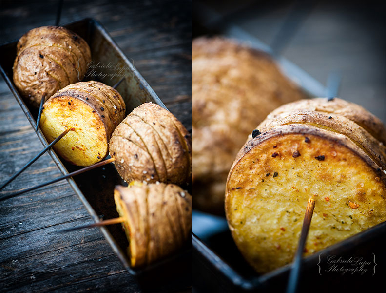Hasselback potatoes