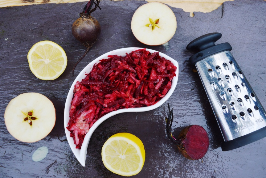 Campervan Recipes: The Ridiculously Simple Beetroot Salad that Helps You Live to 90…