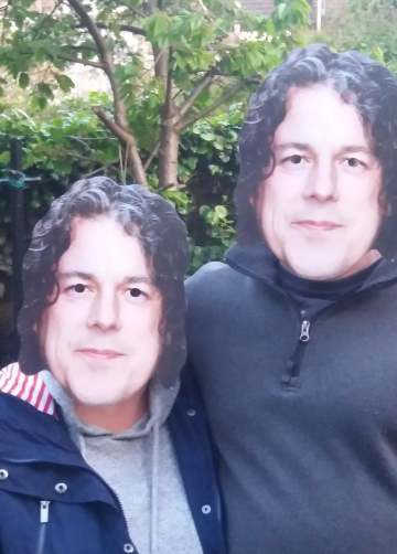 Alan Davies masks