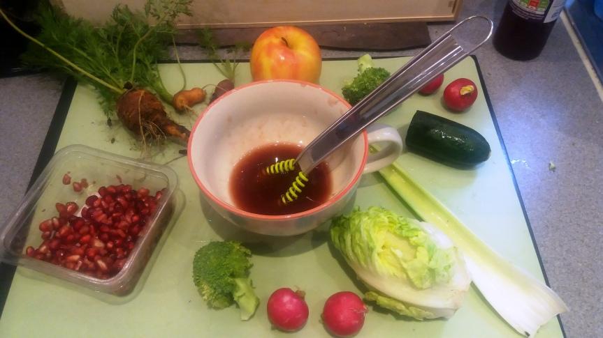 Ingredients Salad enchanced