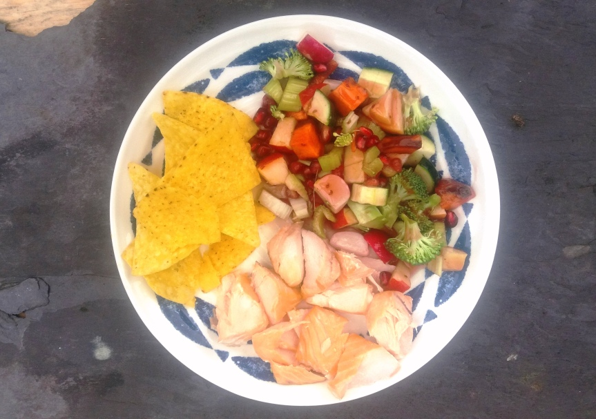 LUSCIOUS LUNCHES: 7-7 Salmon and MicroSalad