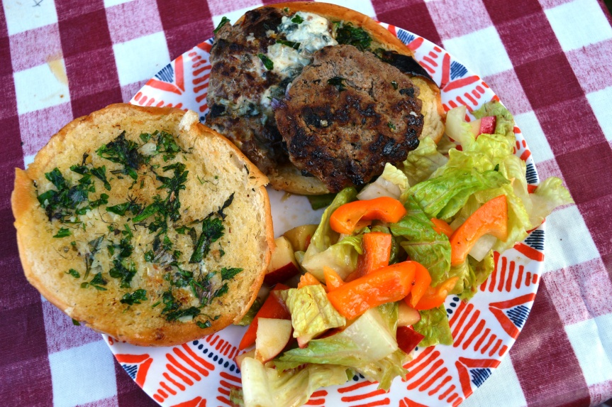 CAMPERVAN RECIPES: More-ish Lamb Burgers from Moor-ish Dartmoor (sorry..)