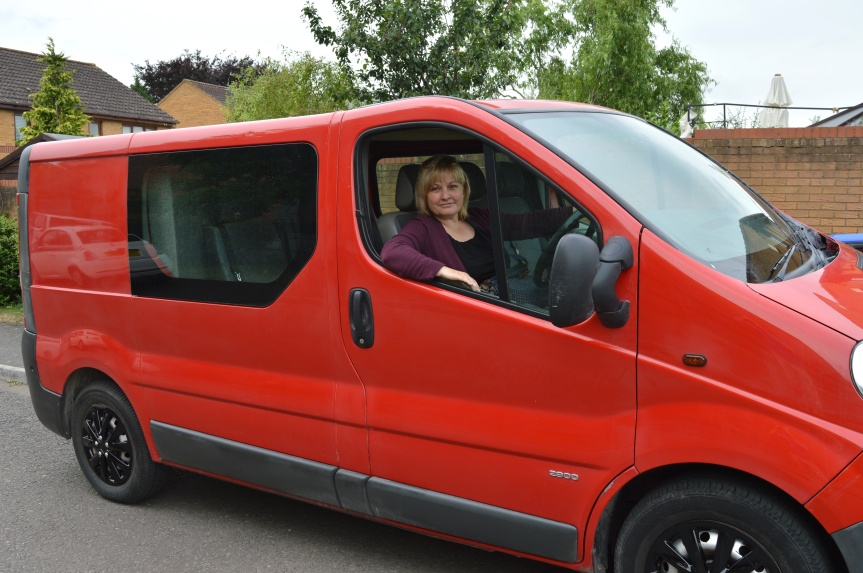 QUEST FOR A NEW CAMPERVAN: Our New Van Has Arrived!